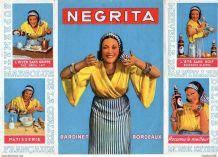 Affiche dépliant publicitaire - rhum négrita bardinet