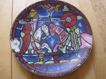Assiette  en porcelaine de Limoges France