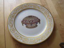 grand plat en porcelaine de Limoges France Fabergé