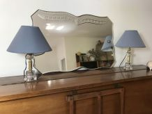 Paire de lampes de chevet années 60 vintage