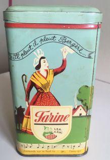 Boîte à farine en métal Elesca