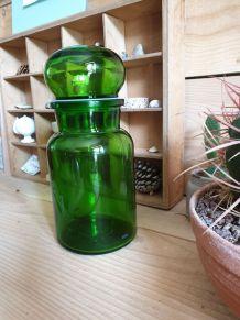 Bocal bouteille en verre