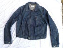 blouson ,veste  femme  en jeans , Levis M