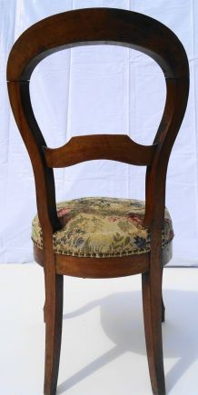 Chaise tapissier
