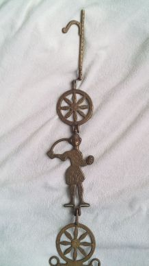 bougeoir chandelier croix orthodoxe