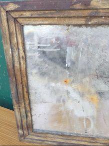 Vieux miroir au mercure