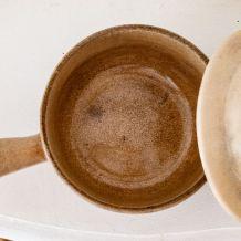 Caquelon en poterie Digoinite des années 30