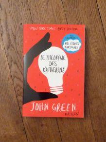 Le Théorème des Katherine- John Green- Nathan