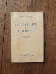 Le Bestiaire et L'Herbier- SIGNE- 1948- Georges Duhamel- Mer