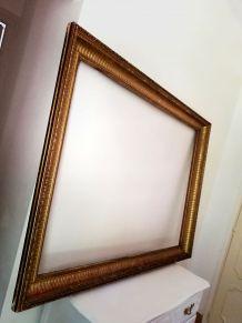 Grand cadre doré de style Directoire