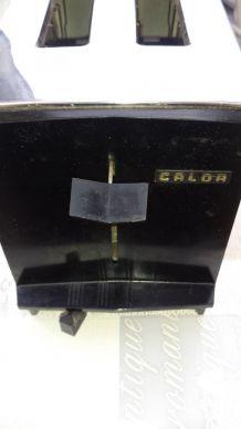 Ancien Grille Pain Vintage (1965) CALOR Inox  220V (1000W)