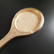 Cendrier raquette en laiton