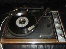 Ancienne Platine vinyle semi automatique BSR Vintage 70's