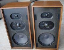 Rare paire d' Enceintes Vintage DUAL CL-172 (1973)