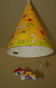 Lampe Suspension pour chambre d'enfant L'oiseau bateau