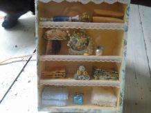 Vitrine /Tableau armoire à linge