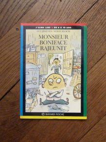 Monsieur Boniface Rajeunit- Guy Jimenes- Bayard- J'aime lire
