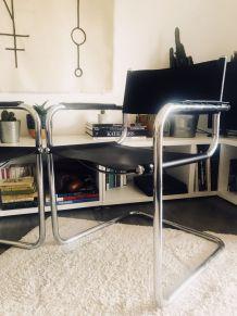 Paire de fauteuils Cantilever S34 Mart Stam