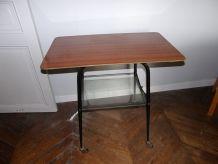 TABLE TELE 2 NIVEAUX