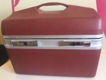 Vanity case rigide bordeaux Visa (Delsey)