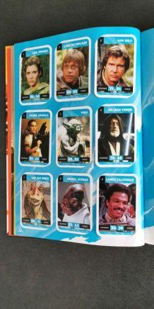 Livre star wars Livre cartes de collection complet en très b