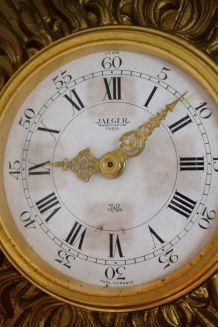 Horloge murale soleil JAEGER Electronic Paris Lic ATO 1950's