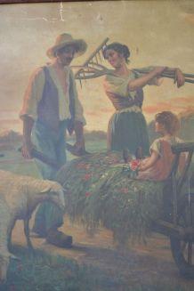 Affiche du peintre Alfred Plauzeau (1875 1918)