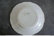 ancienne assiette Creil Montereau - la vélocipédomanie - N°8