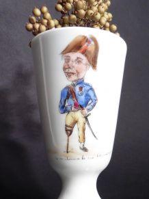 Mazagran Café Porcelaine / Caricature Charles Étienne Gudin