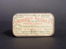 Dragées Cocaïne Menthol Borate / Collection de Boites