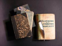 Lot 4 Livres anciens Français début 20ème siècle
