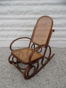 Rocking chair style Thonet
