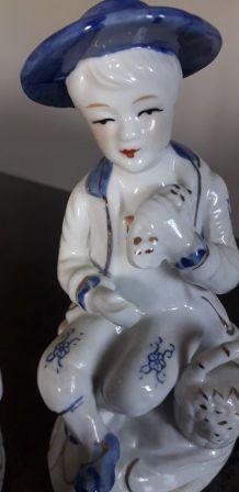 Santons en porcelaine