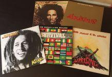 Bob Marley - 5 vinyles 33 t