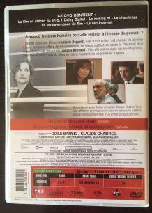 DVD L'Ivresse du Pouvoir de Claude Chabrol