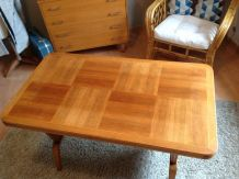 Table basse modulable style vintage années 50/60