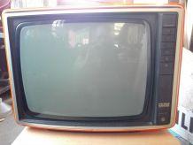 Télé Pathé Marconi 36cm orange année 70