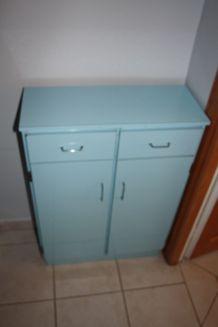petite armoire formica années 40/50