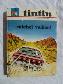 album tintin N°86 michel vaillant 1970