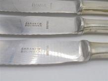 Anciens couteaux