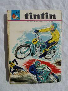 album tintin N° 83 , année 1970
