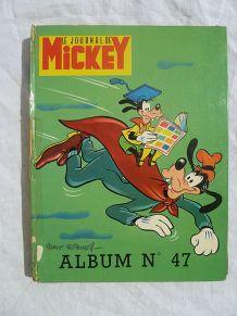 album Mickey N°47 année 1969