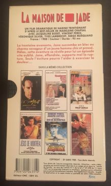 "VHS ""La Maison de Jade"" de Nadine Trintignant"