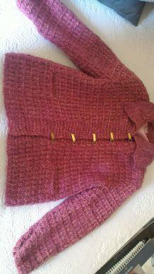 Gilet en laine avec doublure
