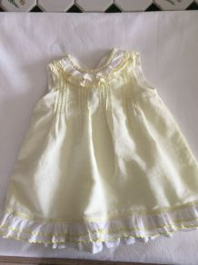 Robe bébé vintage