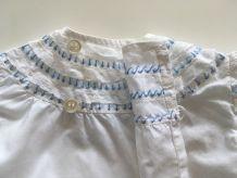Chemisier tunique bébé vintage