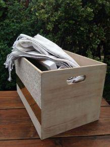 Boîte caisse bois