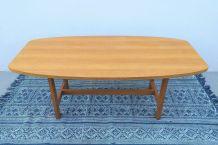 Table basse scandinave années 60