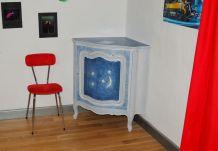 meuble d'angle décoration harry potter
