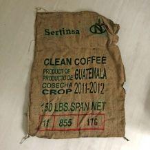 Sac en toile de Jute de Café du Guatemala